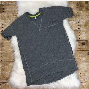 Lululemon Mudra Gray Short Sleeve Sweatshirt 4